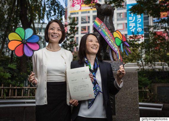 일본 소프트뱅크도 동성 커플을 부부로