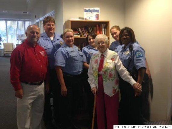 미국의 102세 할머니가 체포된 이유는 정말이지