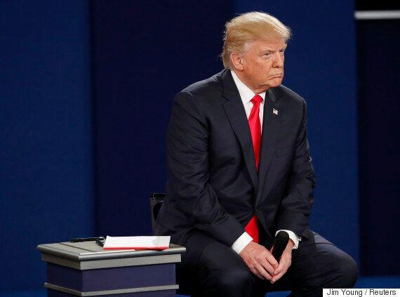 도널드 트럼프는 대통령이 될 생각이 없다는 걸 다시 한 번 확실히