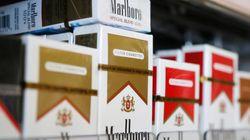 외국산 담배가 단 4개월 만에 군대를