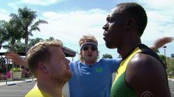 우사인 볼트과 오웬 윌슨이 100m 달리기 대결을 하면 누가