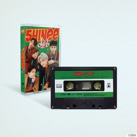 샤이니의 새 앨범은 '90년대 감성'을 고스란히 담았다 (사진,