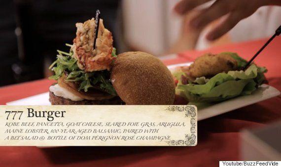 85만 원짜리 햄버거는 5천 원짜리랑 뭐가