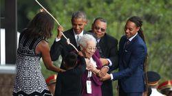 노예였던 남성의 딸이 미국 국립 흑인 박물관 개관을