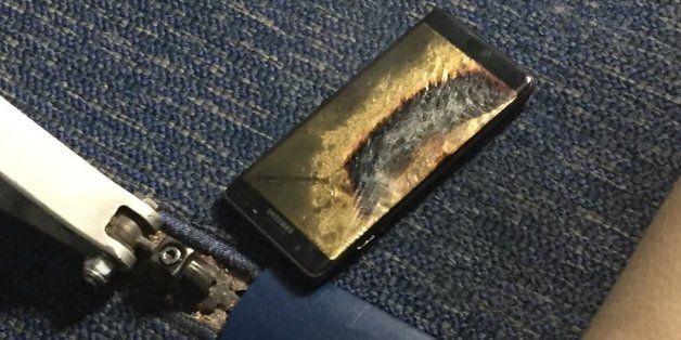 미국 CPSC는 삼성 갤럭시노트7 '교환품' 추정 화재 사건을