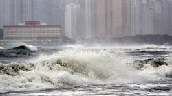 태풍이 제주도에 이어 부산을 강타한다. 실종·정전 등 피해가 잇따르고