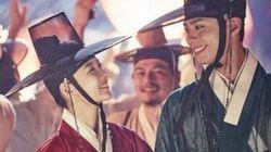 박보검과 김유정이 시청률 공약대로 광화문에
