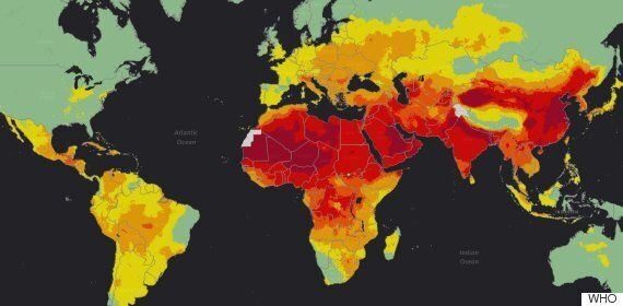 WHO는 전 세계 인구 10명 중 9명이 '기준치를 초과하는 공기 오염에 노출됐다'고