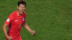한국 축구대표팀이 카타르를 3대 2로
