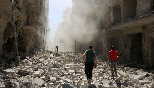이 사진들은 일주일의 임시 휴전이 끝난 시리아에 단 이틀 동안 벌어진 참상을