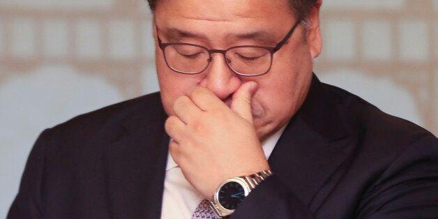 21일 오전 서울 삼청동 총리공관에서 열린 고위 당·정·청 회의에서 안종범 정책조정수석이 참석해