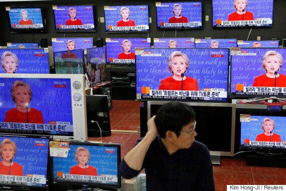 금융시장은 힐러리 클린턴-도널드 트럼프 토론의 승자를 알고
