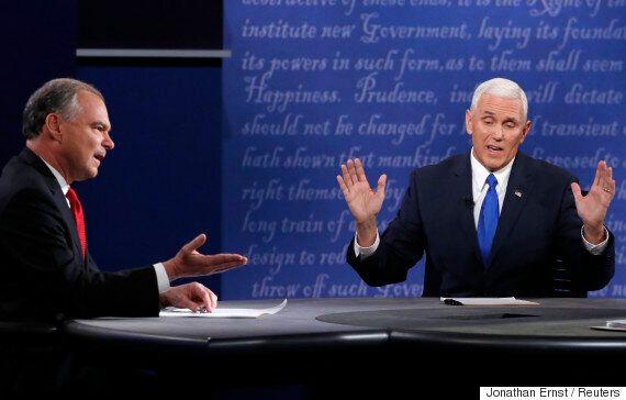 [미국 부통령 후보 토론회] 마이크 펜스에 따르면, 트럼프는 트럼프가 한 말을 하지