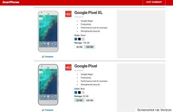 구글의 새 스마트폰 '픽셀'은 아이폰과
