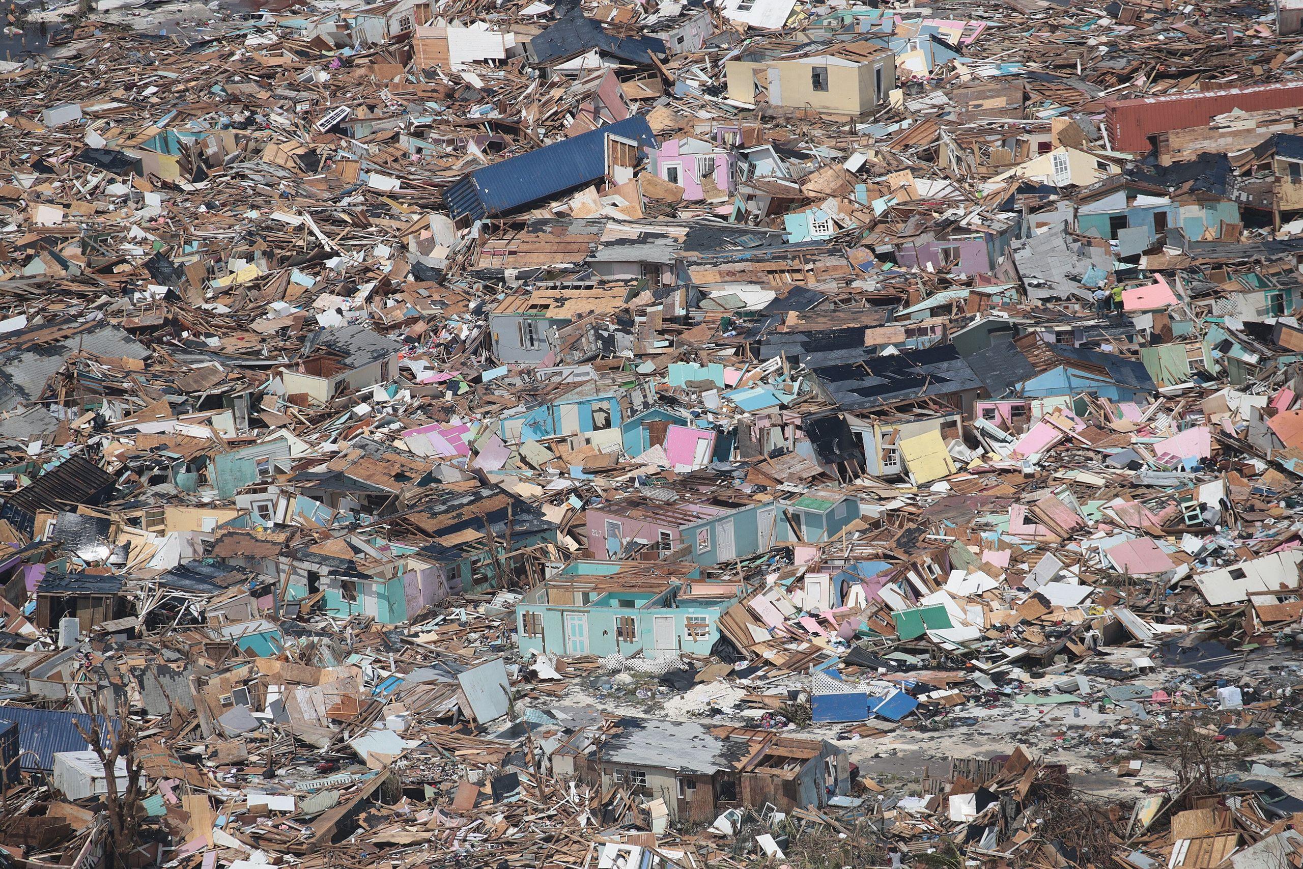 Westlake Legal Group 5d715e65250000e213053f76 Dramatic Images Show Hurricane Dorian Destruction From Above