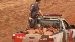브라질에서 교도소 수감자 470명이 집단 탈옥하는 일이