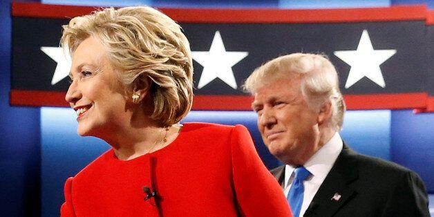 트럼프의 토론 퍼포먼스는 사상