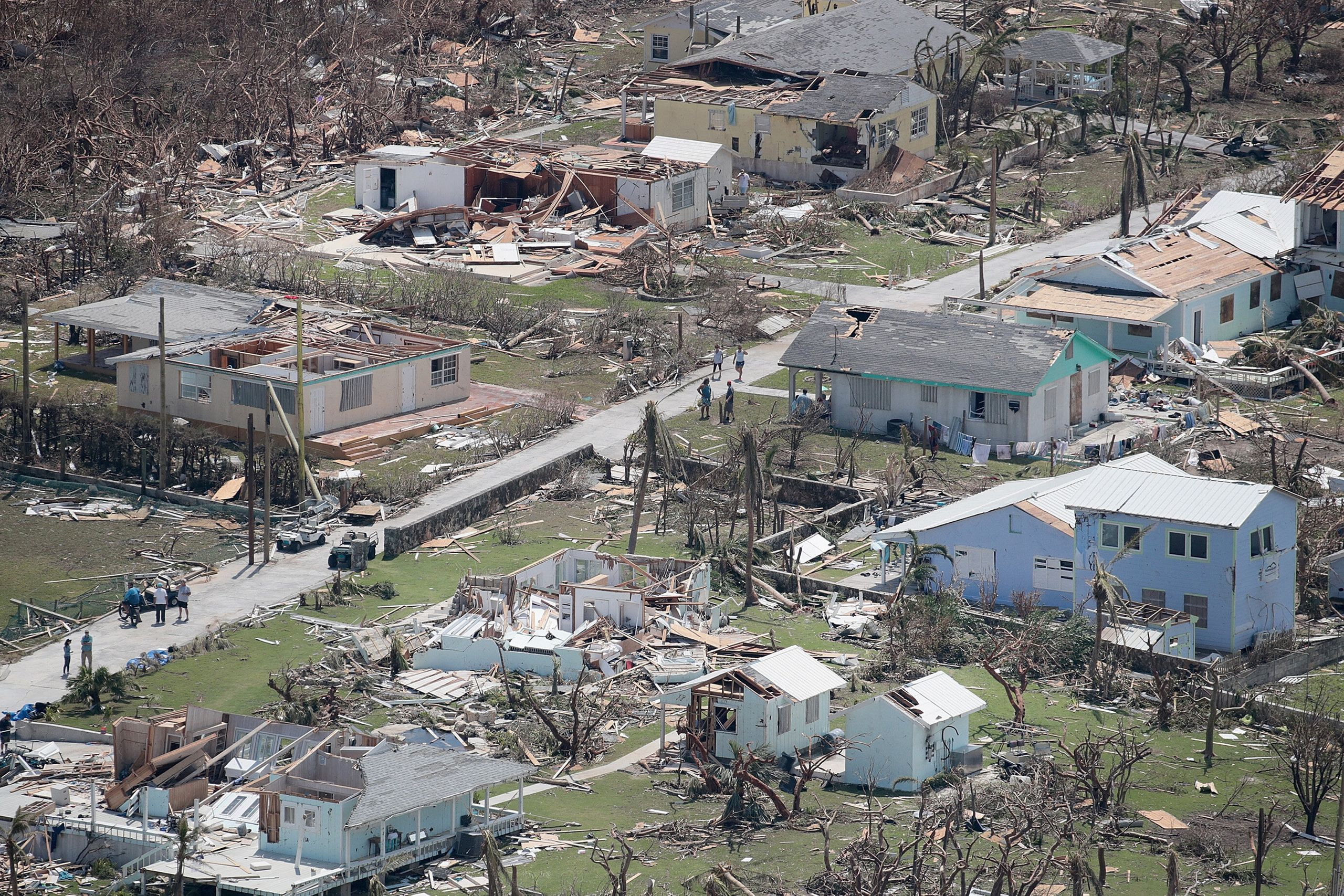 Westlake Legal Group 5d715eba2500007a12054012 Dramatic Images Show Hurricane Dorian Destruction From Above