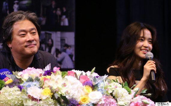 박찬욱 감독이 '아가씨'의 주연 배우 세 사람에게 고마움을