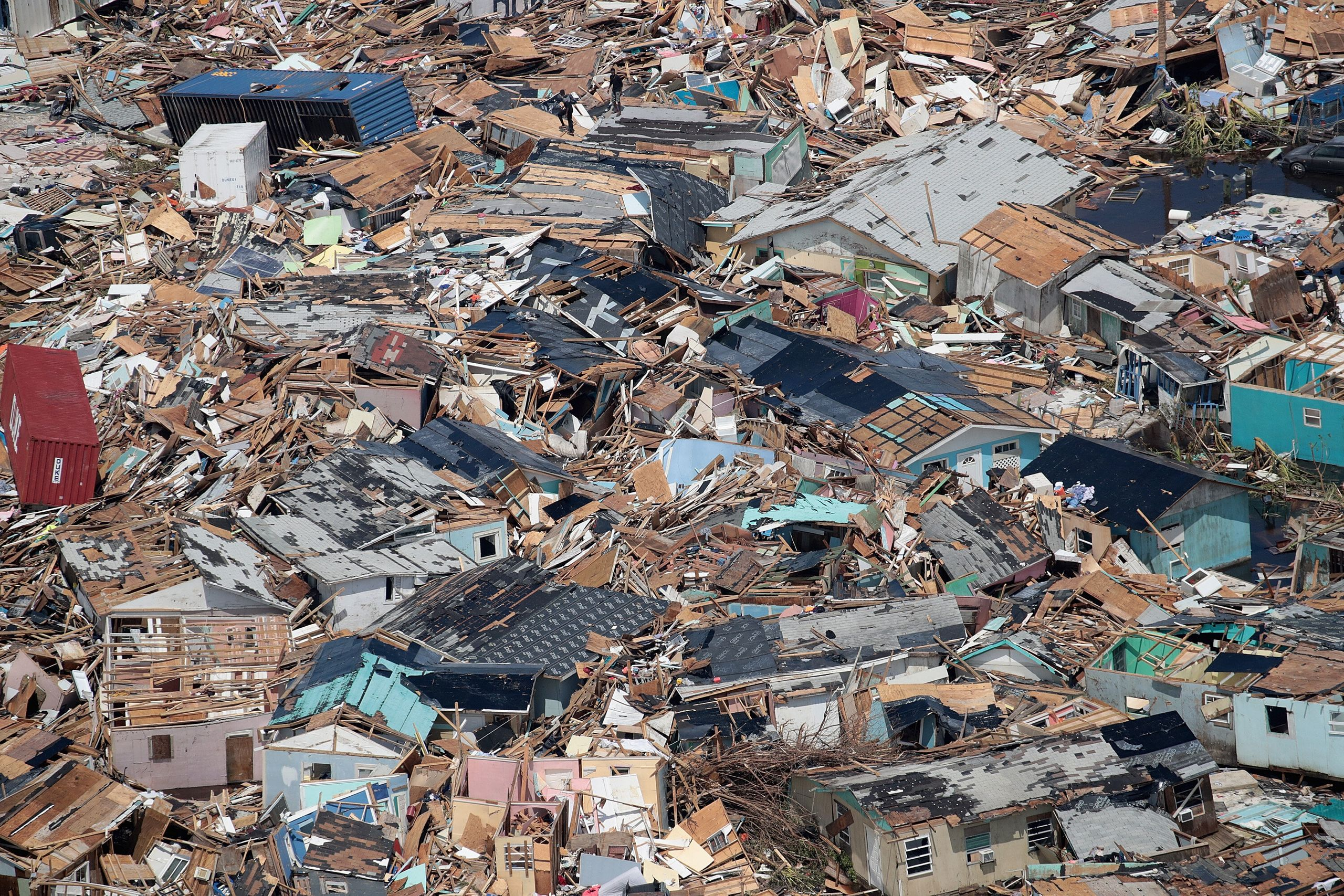 Westlake Legal Group 5d715ee0240000fb1776260f Dramatic Images Show Hurricane Dorian Destruction From Above