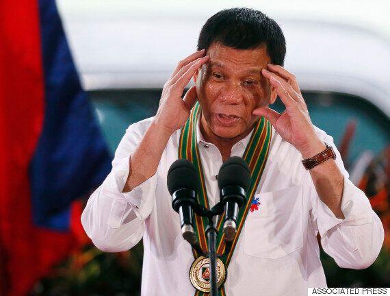 필리핀 두테르테 대통령이