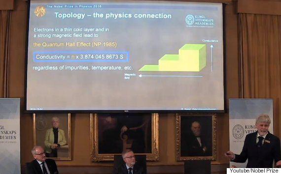노벨 물리학상이 발표됐는데 아무도 연구의 내용이 뭔지 잘