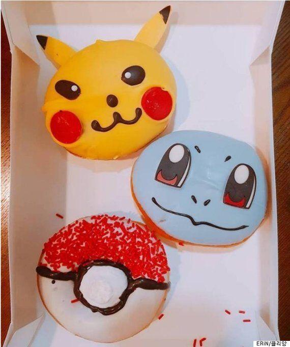 크리스피크림의 '포켓몬 도넛'은 기대에 비해 매우 충격적이다