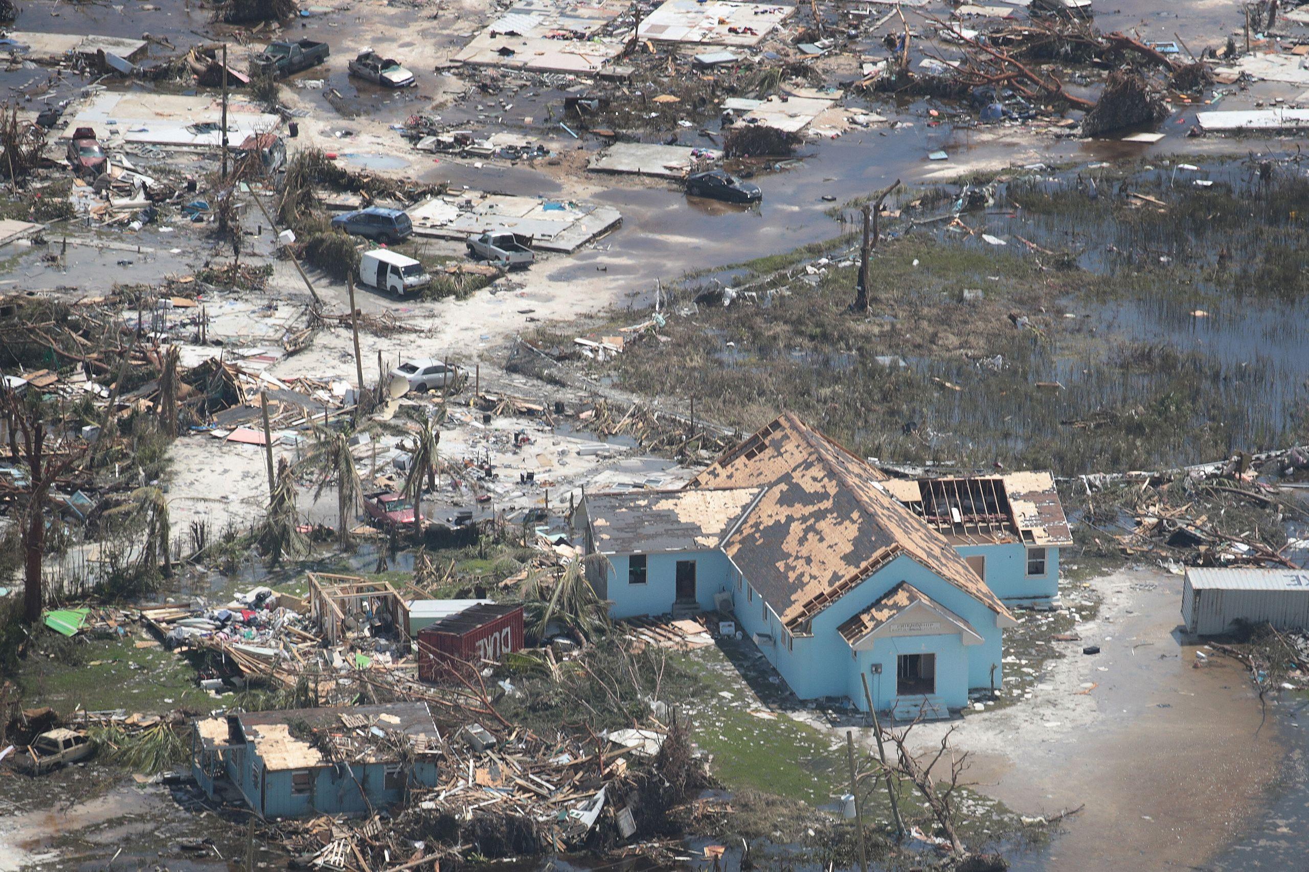 Westlake Legal Group 5d715fa52500004d1205421c Dramatic Images Show Hurricane Dorian Destruction From Above