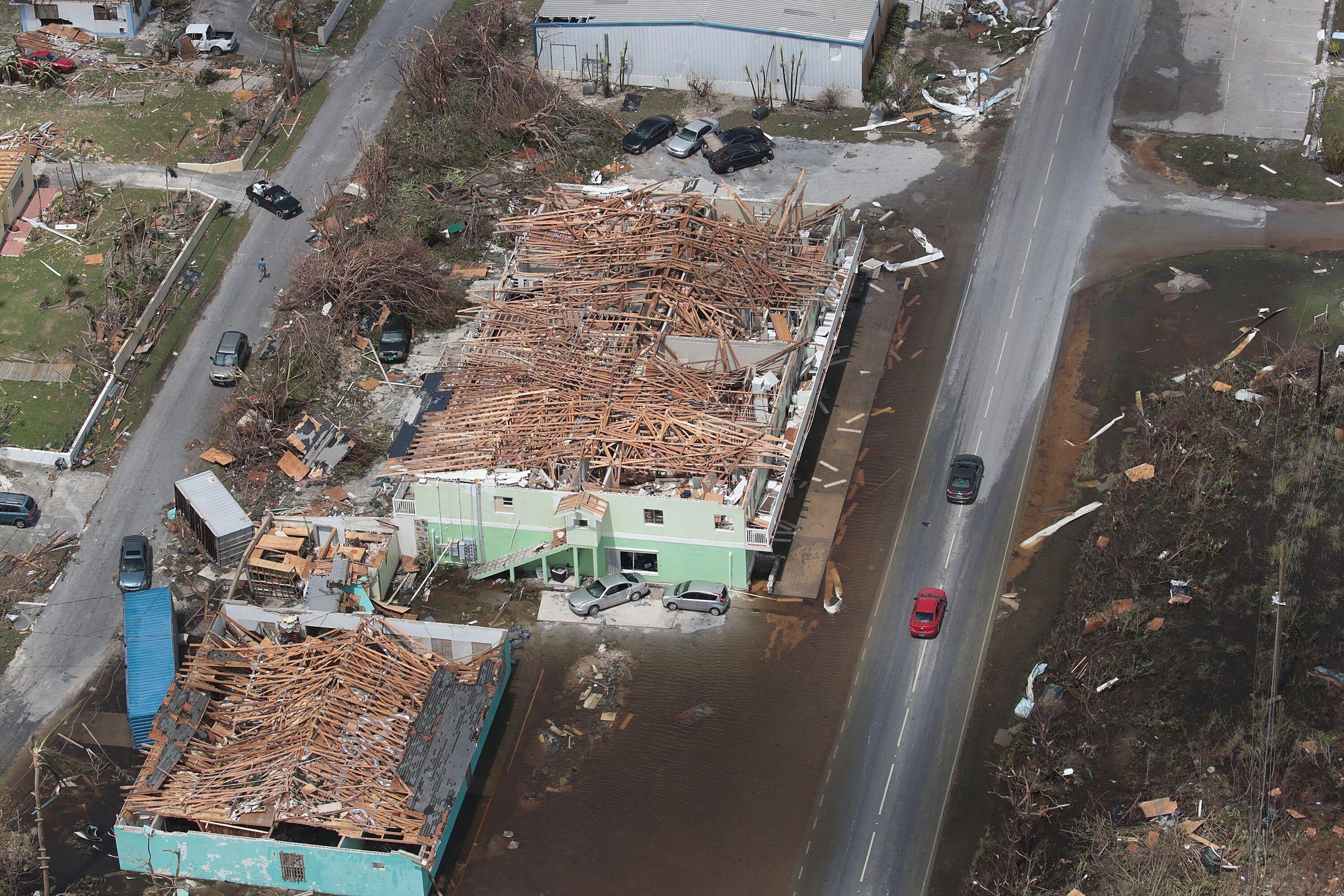 Westlake Legal Group 5d7160082500007a120542bd Dramatic Images Show Hurricane Dorian Destruction From Above