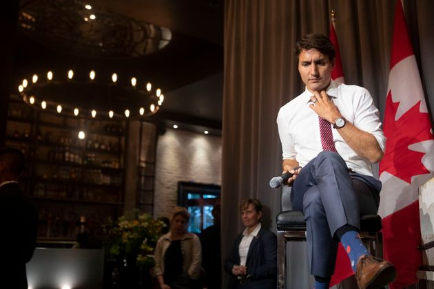 Prime Minister Justin Trudeau attends a Liberal Party fundraising event in Toronto on Sept. 4,