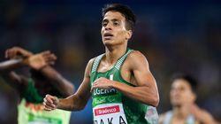 패럴림픽 1,500m 선수 4명이 이번 올림픽 금메달의 기록을