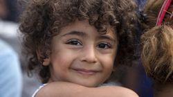매일 폭탄 떨어지는 시리아에 살던 아이들이 이제 '유치원'에
