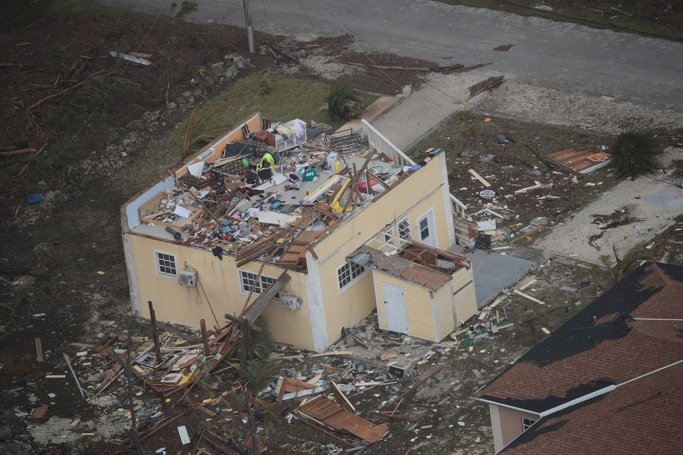 Dramatic Images Show Hurricane Dorian Destruction From