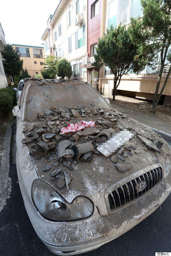 경주 주민들이 '지진 트라우마'를 호소하고