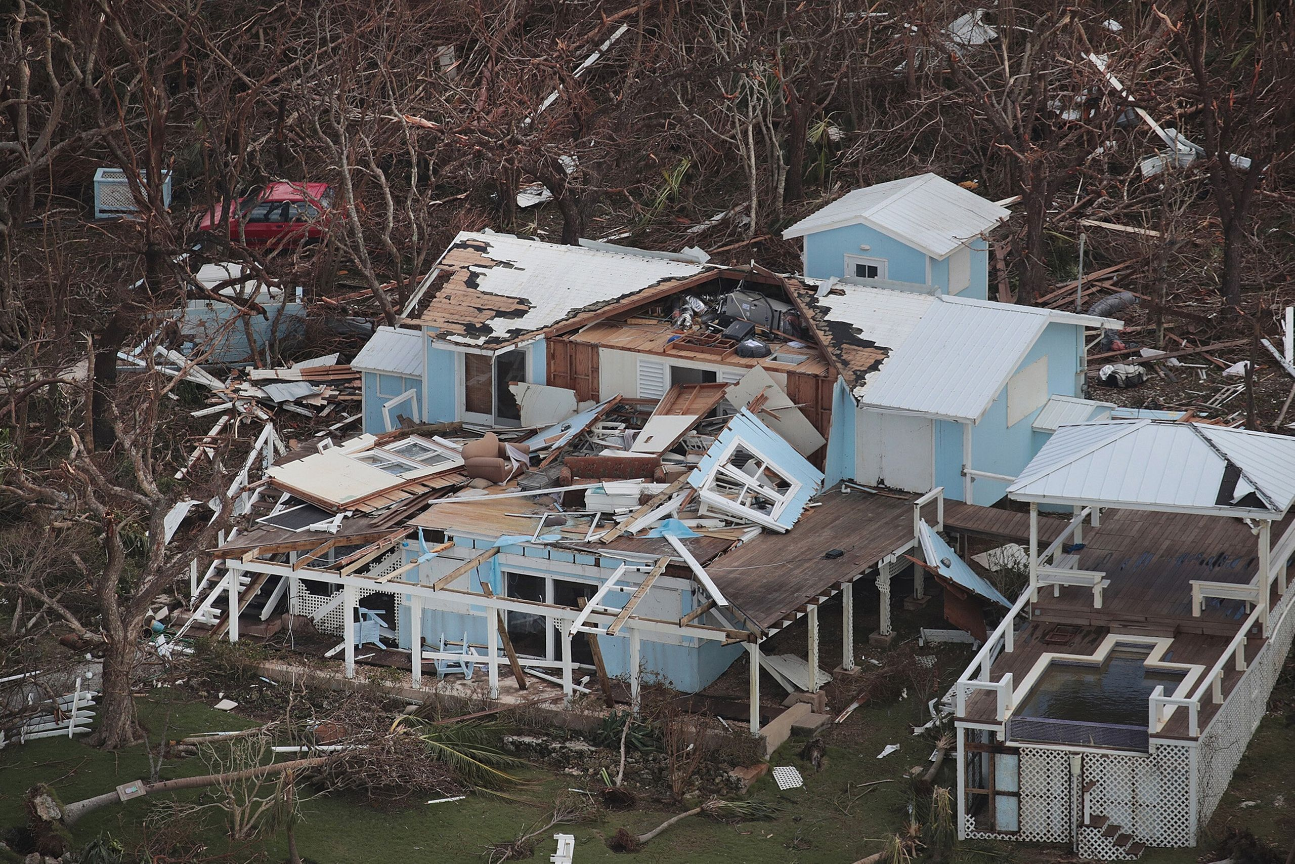 Westlake Legal Group 5d71610f240000ee17762a60 Dramatic Images Show Hurricane Dorian Destruction From Above