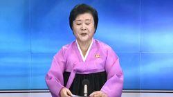조선중앙TV는 북한의 5차 핵실험이 성공적이라고