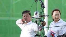 패럴림픽 양궁 혼성에서 동메달이