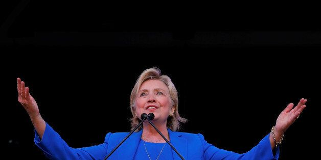 U.S. Democratic presidential candidate Hillary Clinton speaks to the Annual Session of the National Baptist...
