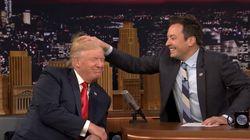 지미 팰런이 트럼프의 머리를 마구 헤집었다가 뭇매를