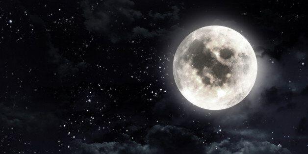 안타깝지만 완벽한 보름달은 추석 당일에