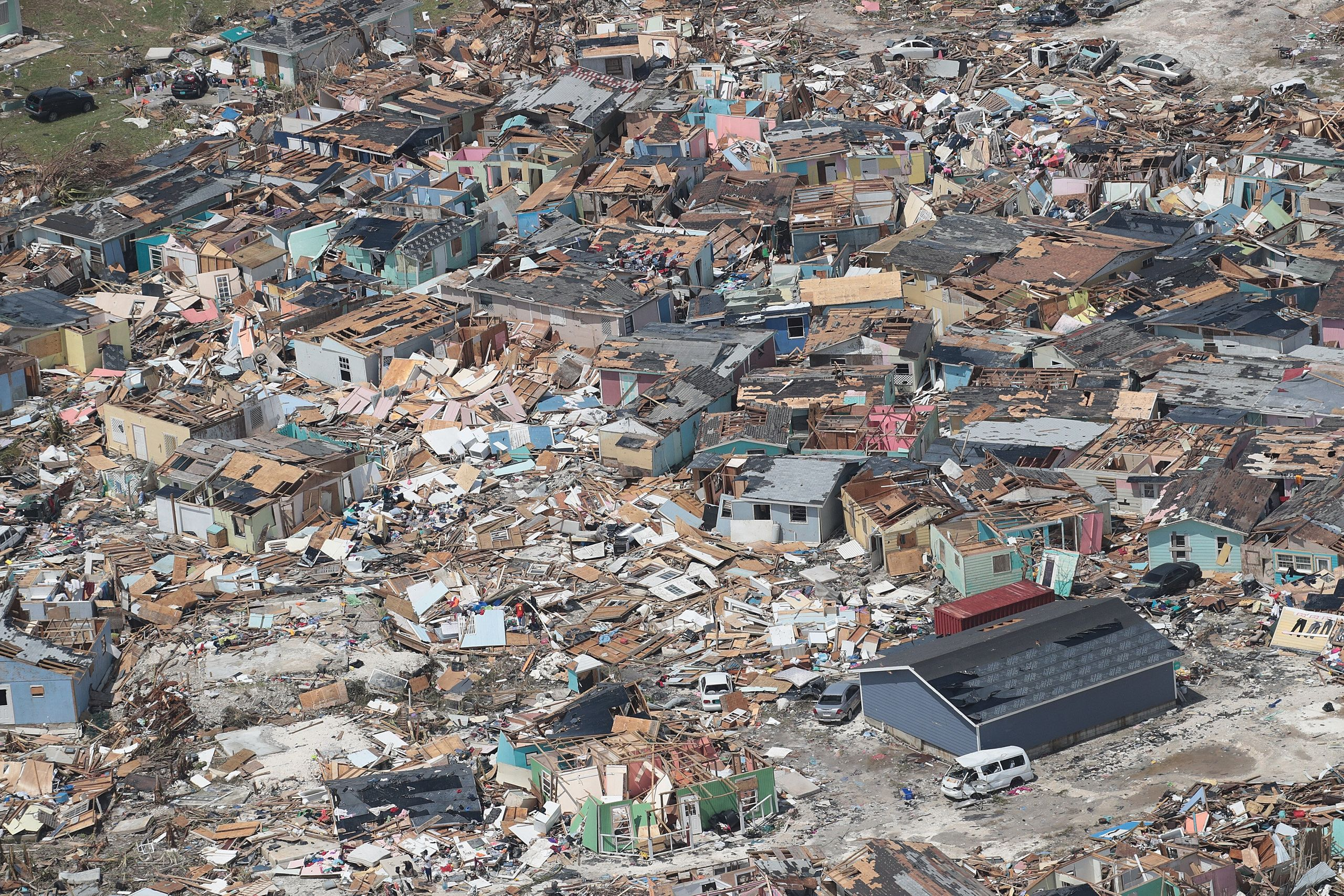Westlake Legal Group 5d7162583b0000b140cf2941 Dramatic Images Show Hurricane Dorian Destruction From Above