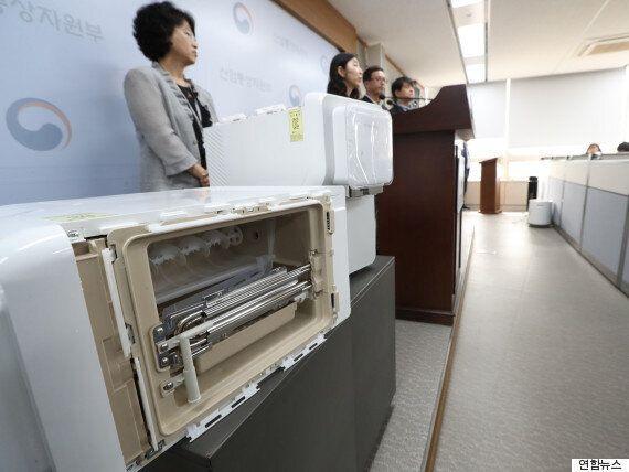 정부, '니켈 검출' 코웨이 정수기 '리콜'
