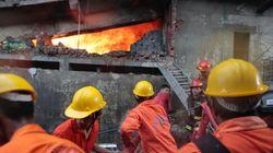 방글라데시 의류공장에서 보일러 폭발로 최소 21명 사망(사진,