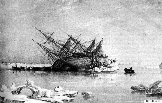 북극해 탐사 중 실종됐던 프랭클린함을 원주민 구전사에 근거해 168년 만에