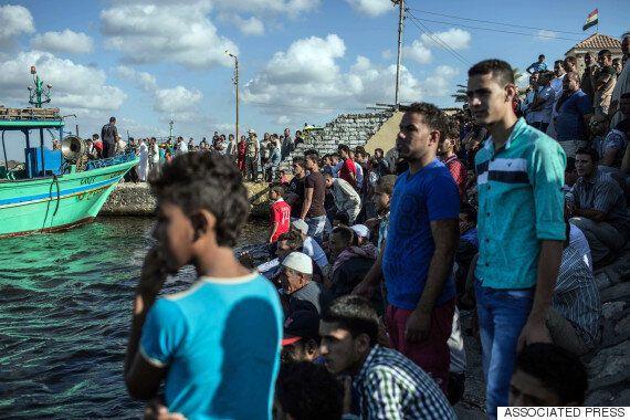 유럽행 난민선 침몰, '사망자 최소 162명으로