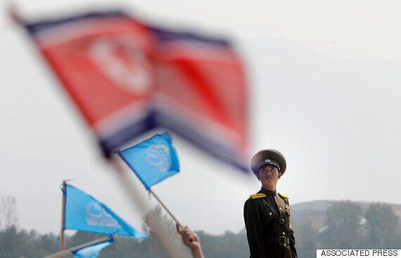 북한의 사상 첫 에어쇼가 조금 특별한