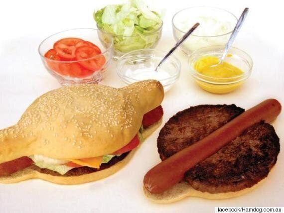 호주에서 핫도그와 햄버거를 합친 '햄도그'가