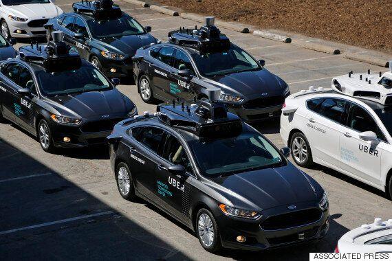 미국 피츠버그에서 우버의 '자율주행 택시'가 처음으로 시범운영에 들어갔다