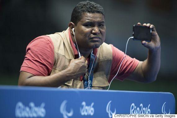 시각장애인 사진작가가 찍은 리우 패럴림픽의 사진들(영상,