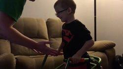 앞으로 걷지 못할 거라는 진단 받은 8살 희귀병 환자가 기적을